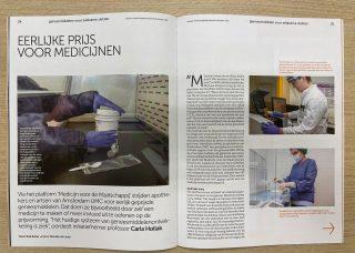 Interview met Medicijn voor de Maatschappij in Janus